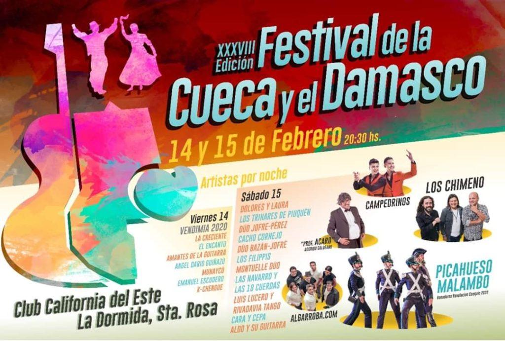 Fiesta Departamental de la Vendimia y Festival de la Cueca y el Damasco