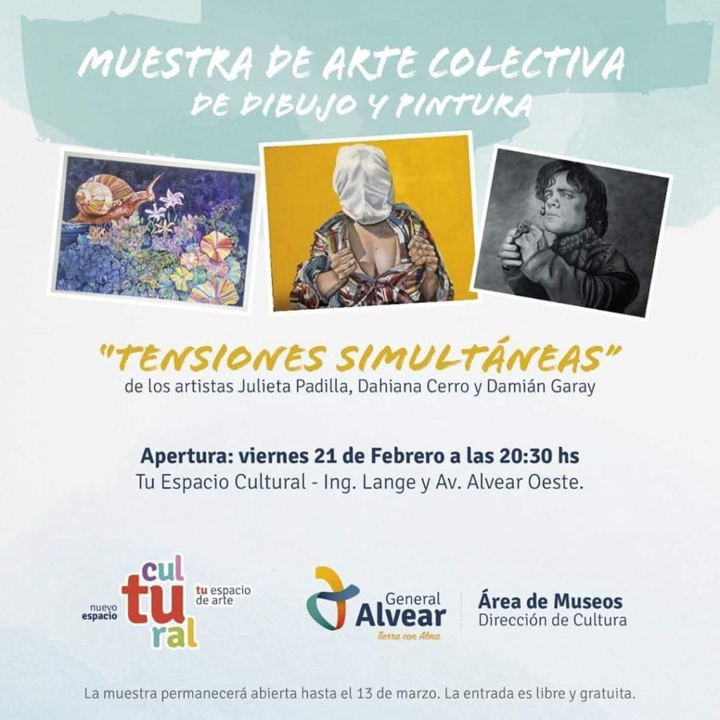Muestra de Arte Colectiva en General Alvear