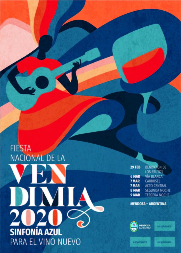 Ya tiene su imagen la Fiesta Nacional de la Vendimia 2020