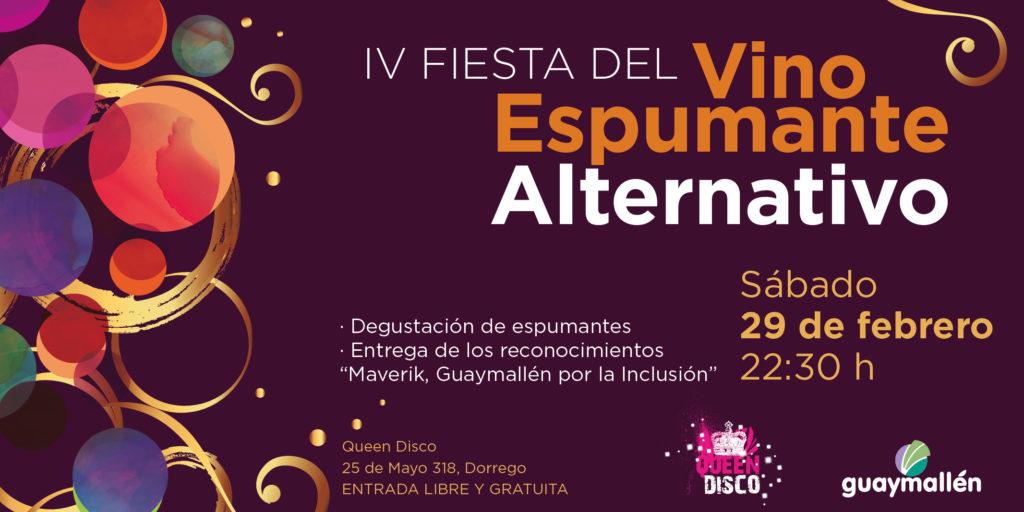 Se viene la edición 2020 de la Fiesta del Vino Espumante Alternativo en Guaymallén