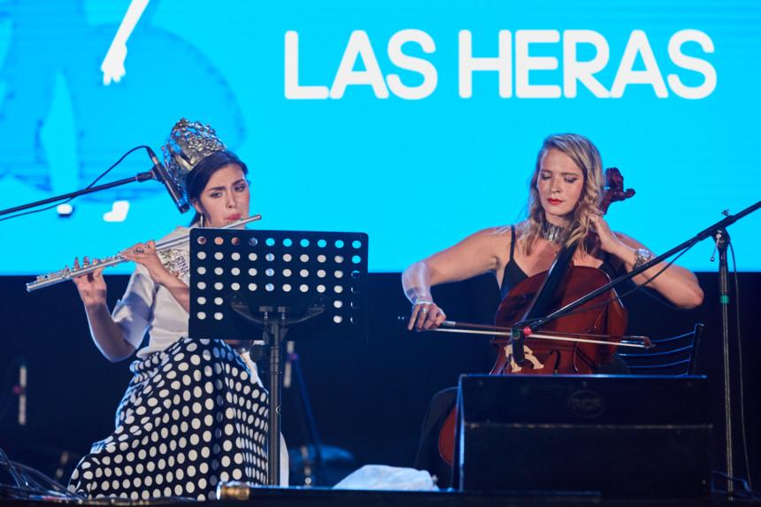 Las reinas de Las Heras, sorprendieron al público de la Semana Federal