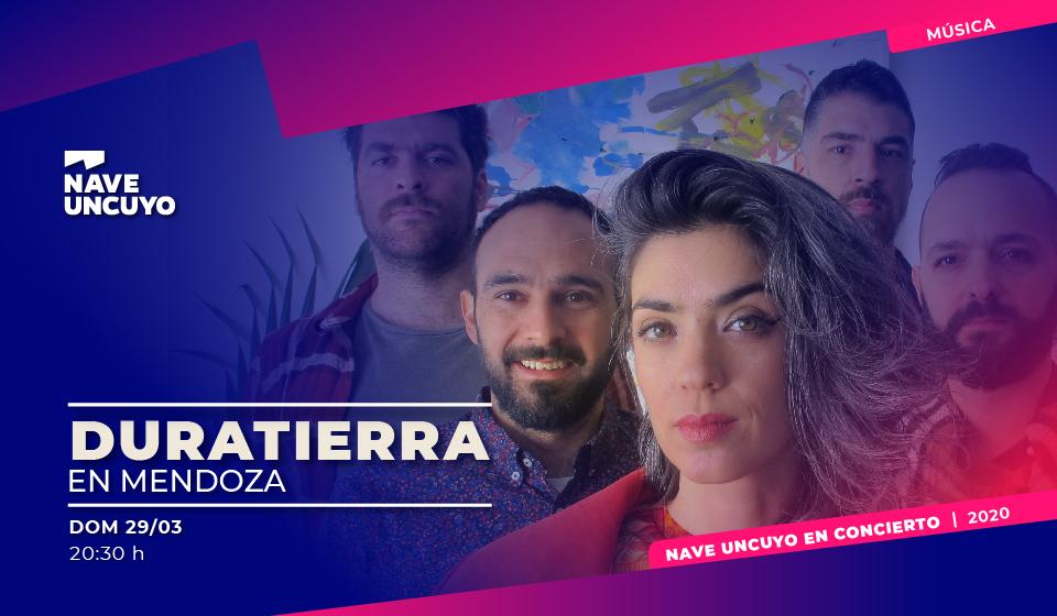 Se presenta en la Nave UNCUYO «Duratierra», banda que combina folklore, rock y jazz