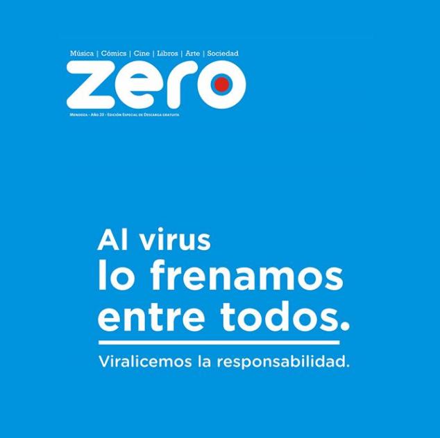 La Revista Zero también #gratis para #leerencasa #quedateencasa