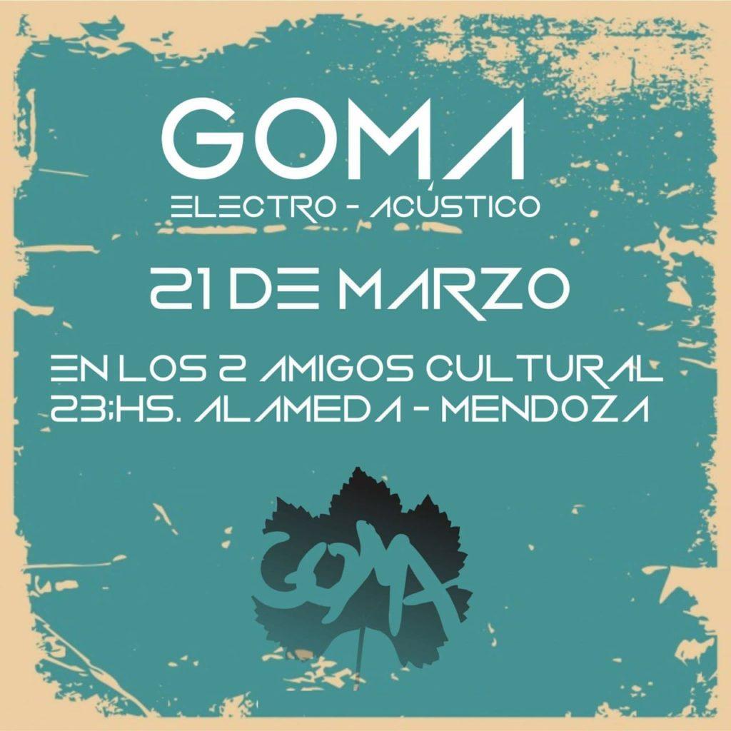 El músico y productor mendocino Goma Pacheco acaba de lanzar el video de su canción «Llevas en tu pecho»