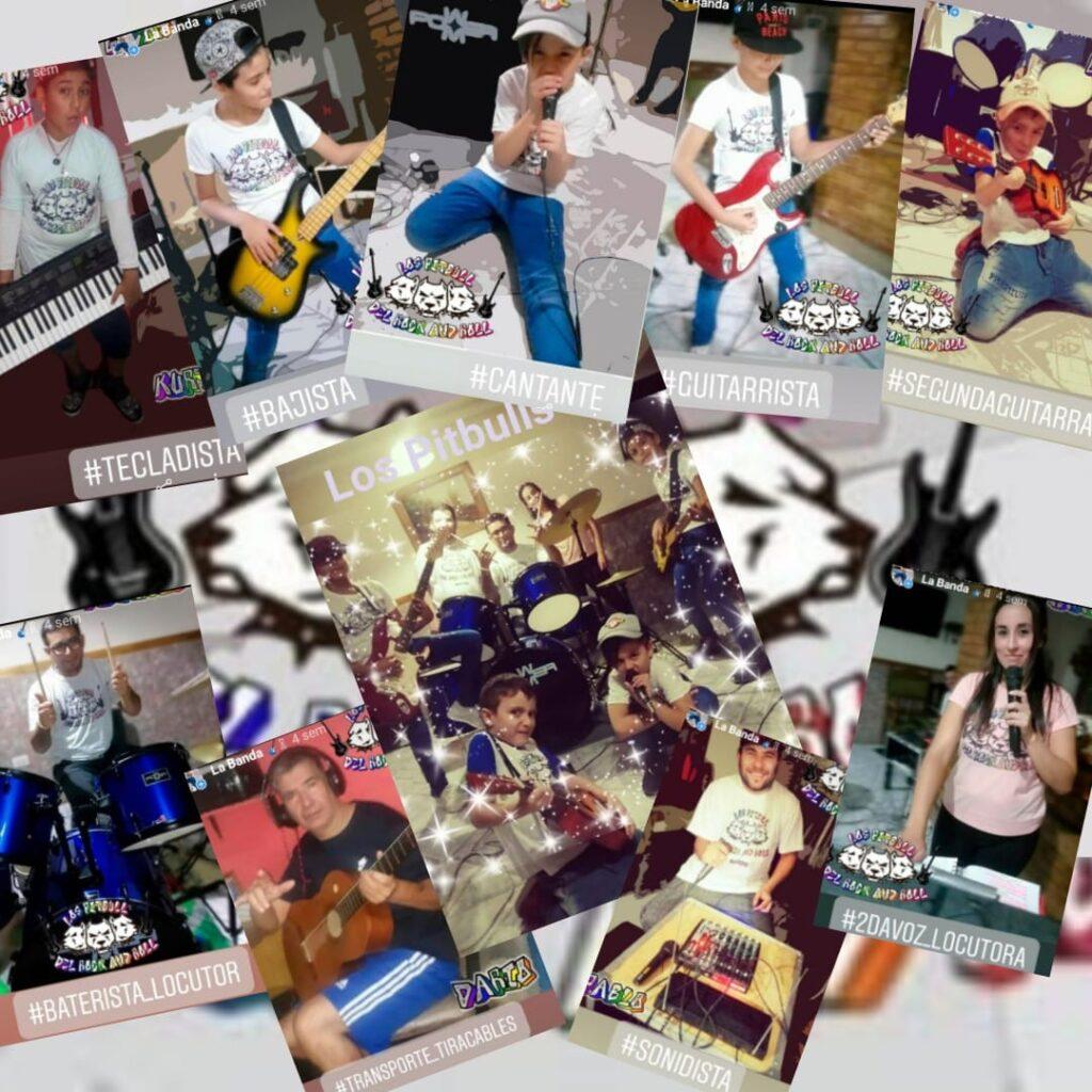 Los Pitbulls del Rock en vivo por internet