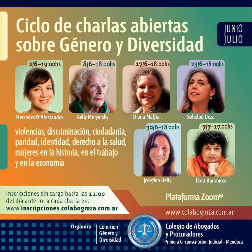 Ciclo de charlas abiertas sobre Género y Diversidad