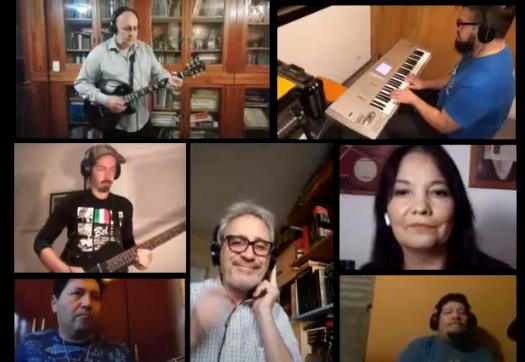 «Seguir viviendo sin tu amor» en cuarentena, por la Orquesta de la UTN + amigos