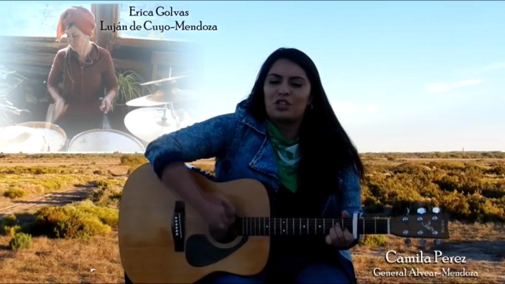 Homenaje a Micaela Garcia, Johana Chacon, Julieta Gonzalez y a todas las víctimas de femicidio