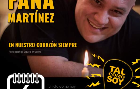 6 de agosto: Fana Martínez