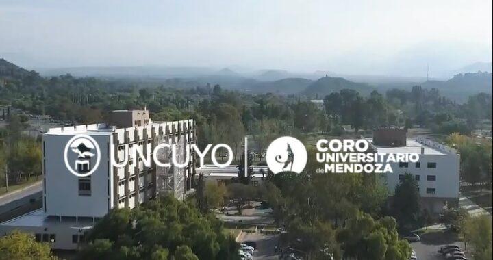 El Coro Universitario celebra el Aniversario de la UNCUYO con una emotiva versión del Himno