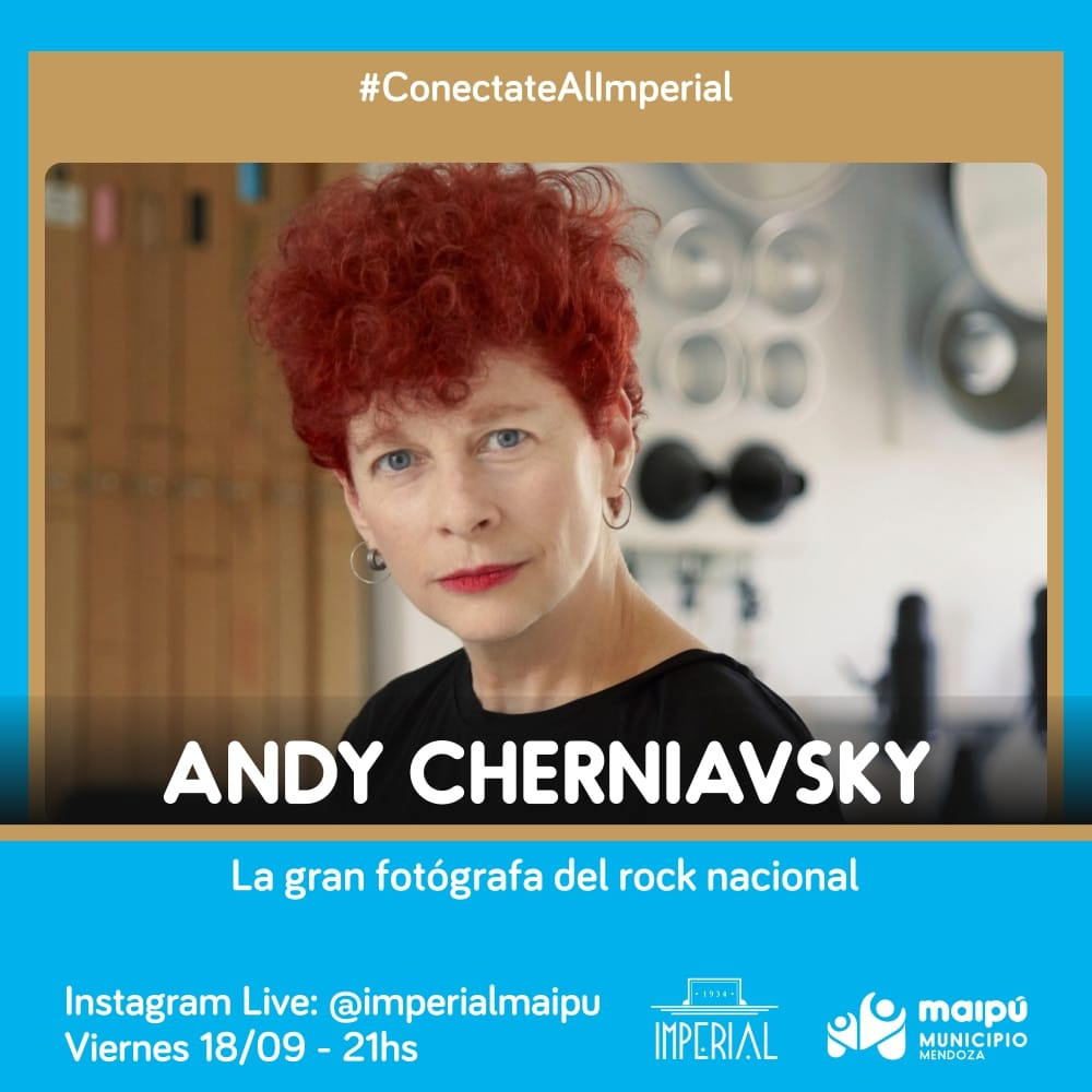 Andy Cherniavsky, la fotógrafa que testimonió el rock argentino en un imperdible instagram live