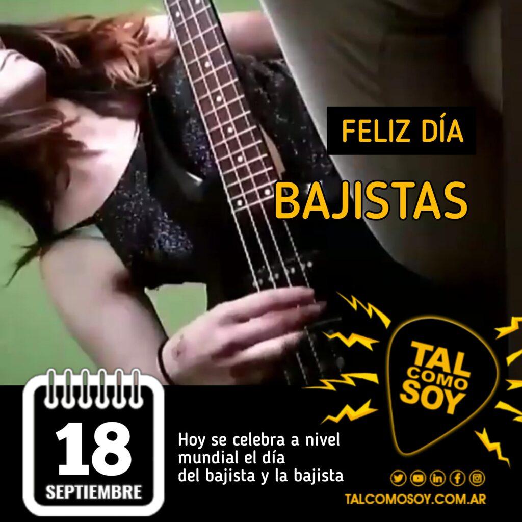 18 de septiembre: Feliz Día Bajistas