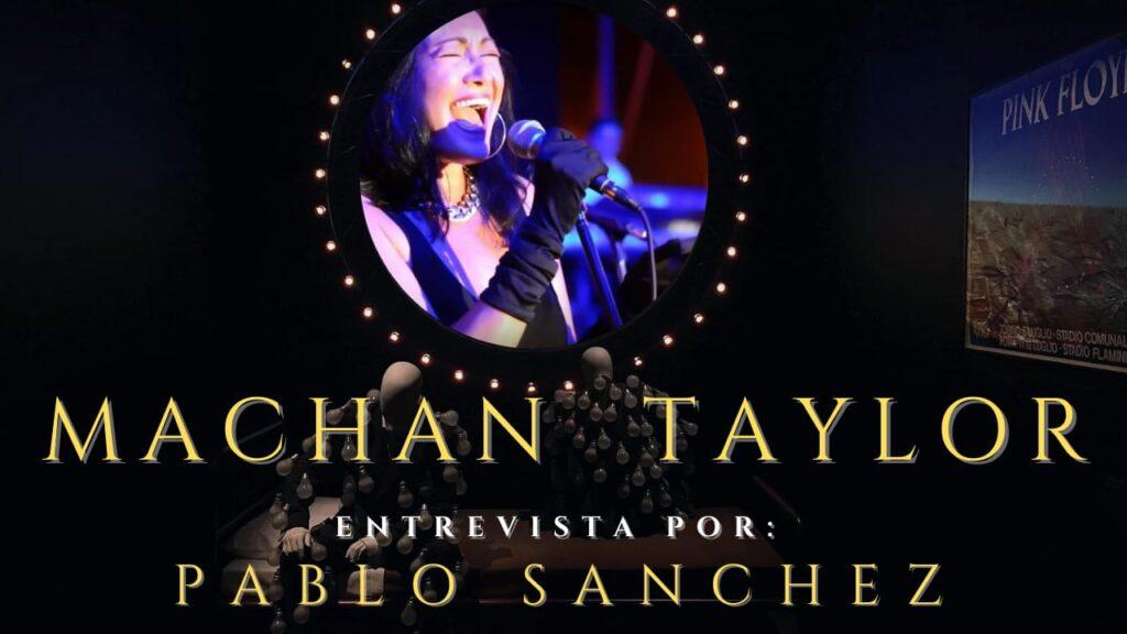 Pablo Sánchez entrevistará a Machan Taylor