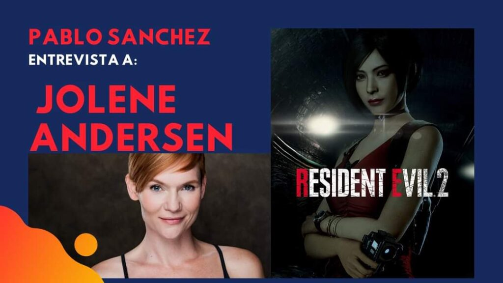 Pablo Sánchez entrevistará a «Jolene Andersen»