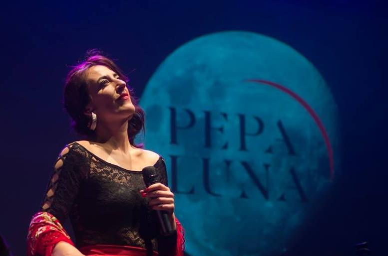 Show Streamingde Pepa Luna junto a Leandro Chiappe en piano