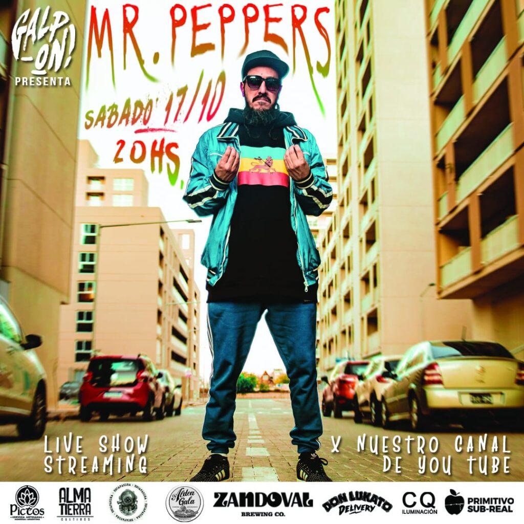 """Mr Peppers presenta """"Energía"""""""