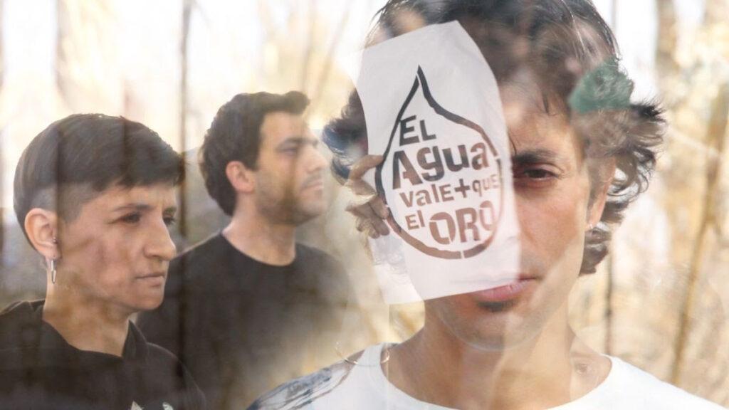 Gucho Guiñazú & Ballena Banda presentan el clip de «Somos el agua que no se toca»