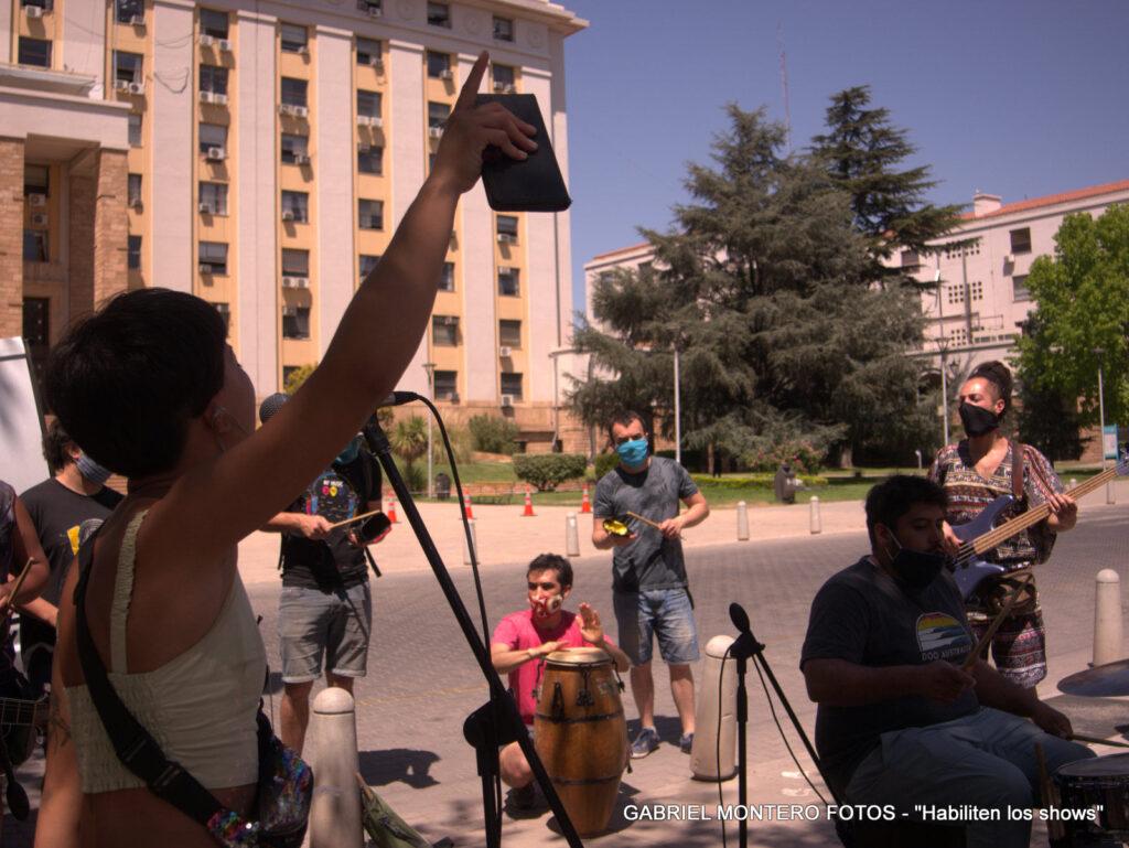 #HabilitenLosShows: Músicos y músicas de Mendoza a la espera de una respuesta urgente y positiva