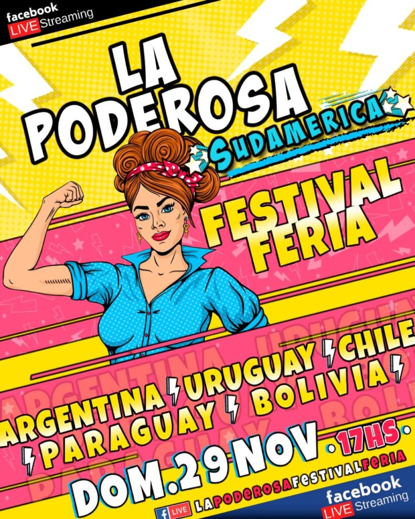La Poderosa Festival Feria Sudamérica