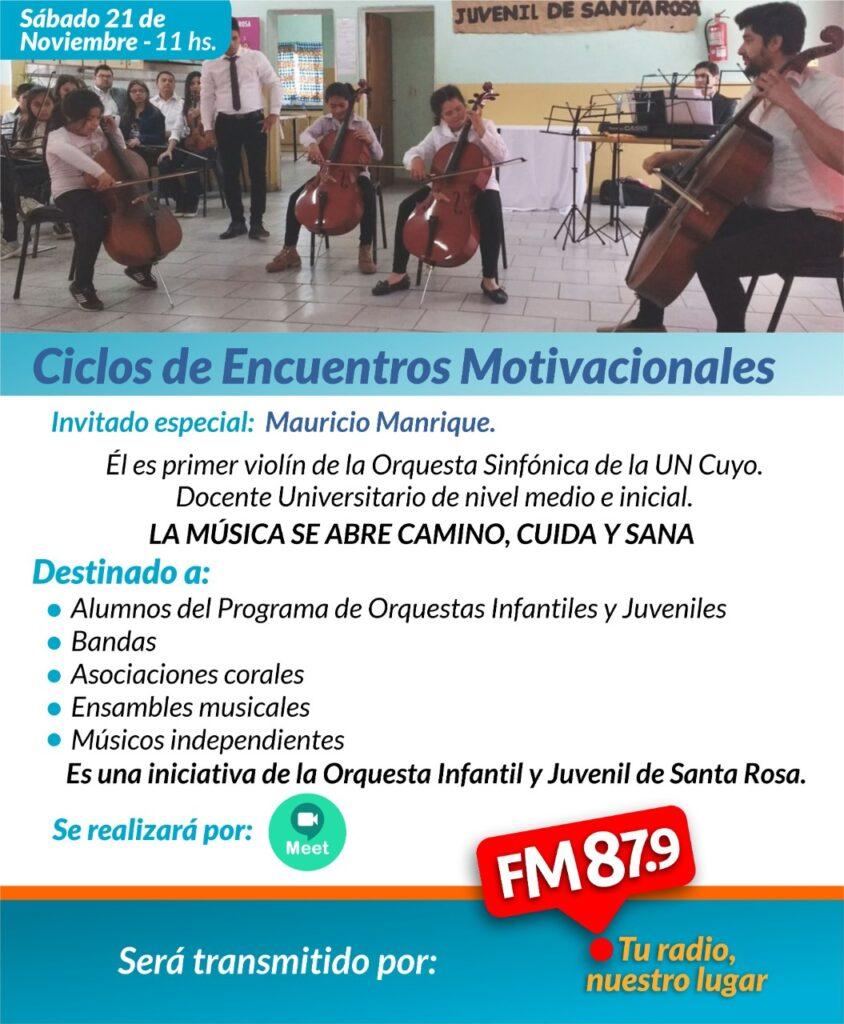 «La Música se abre camino, cuida y sana» Nuevo Encuentro Motivacional