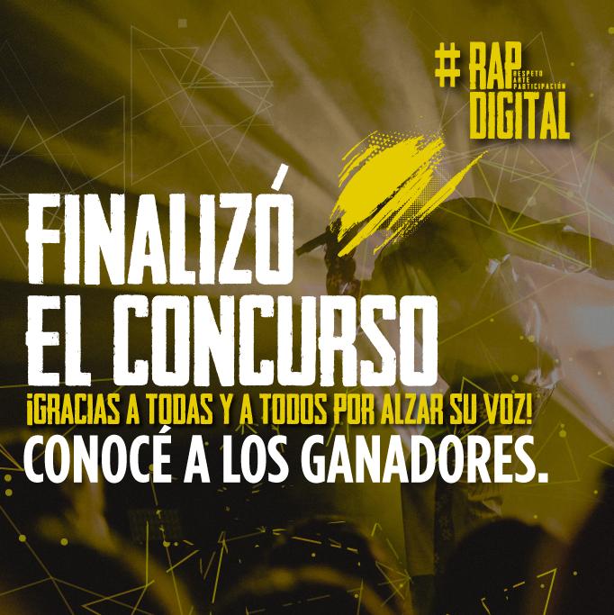 UNICEF anunció lxs ganadores de la 2° Edición del Concurso #RapDigital