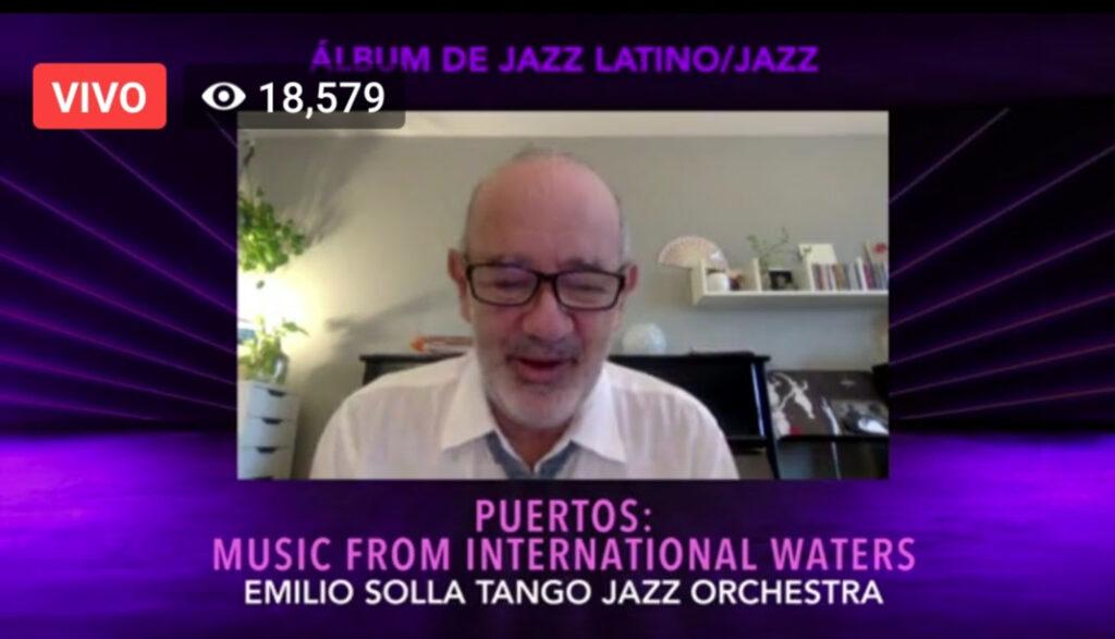 El mendocino Emilio Solla ganó un Latin Grammy por su disco «Puertos»