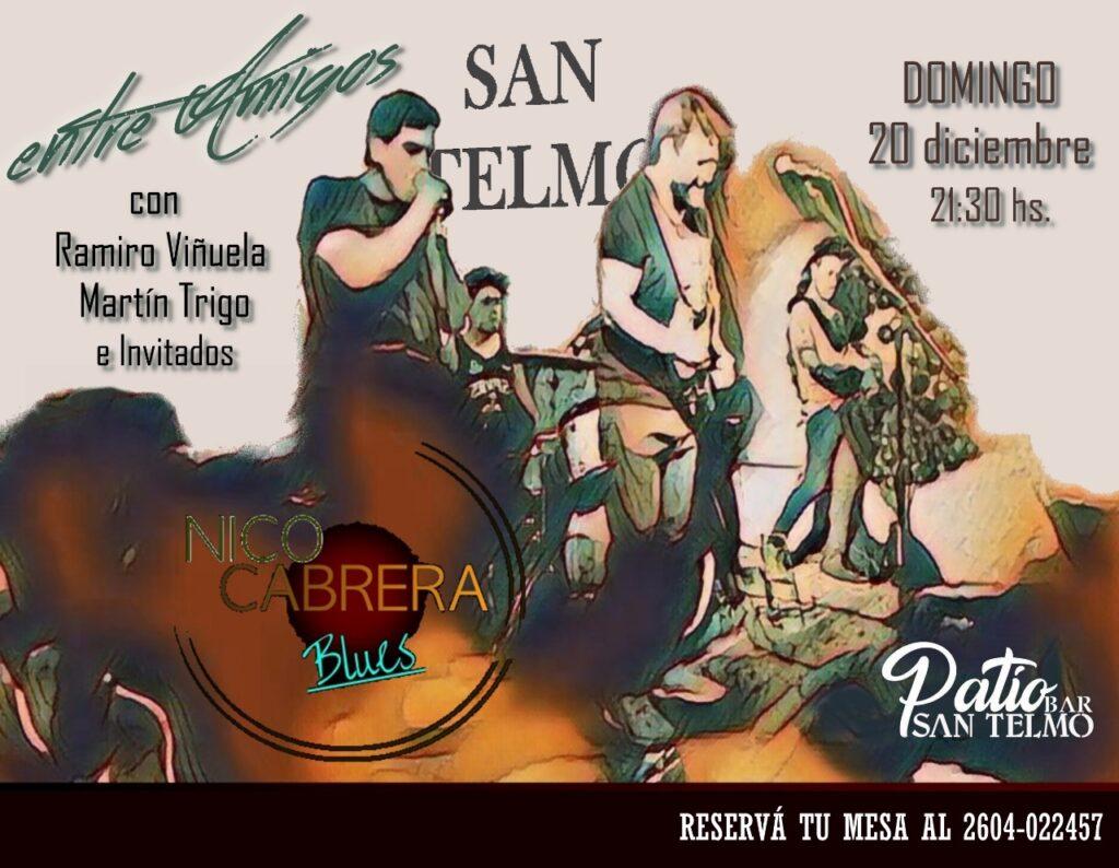 Ciclo de Blues «Entre Amigos» en San Telmo Bar de San Rafael