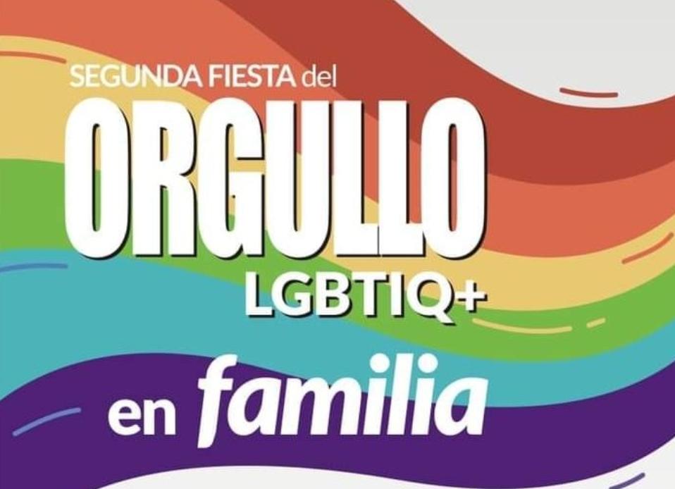Realizarán la segunda fiesta de orgullo LGBTIQ+ para la familia