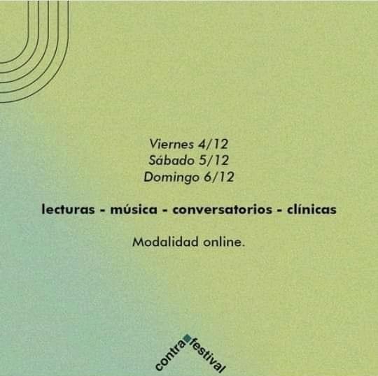 Segunda Edición del Contrafestival Internacional de Literatura y otras Artes