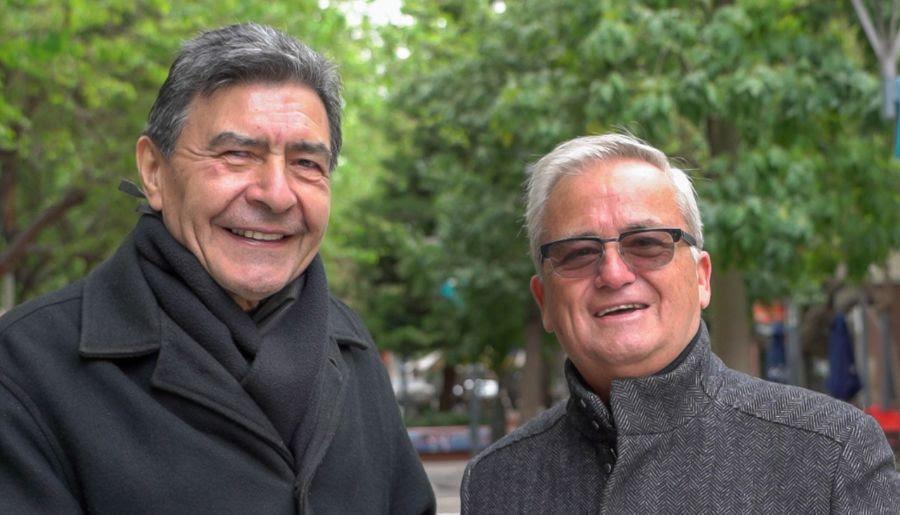 Varón Álvarez y Juan Carlos Díaz Dho compiten en el Festival de la Canción Argentina