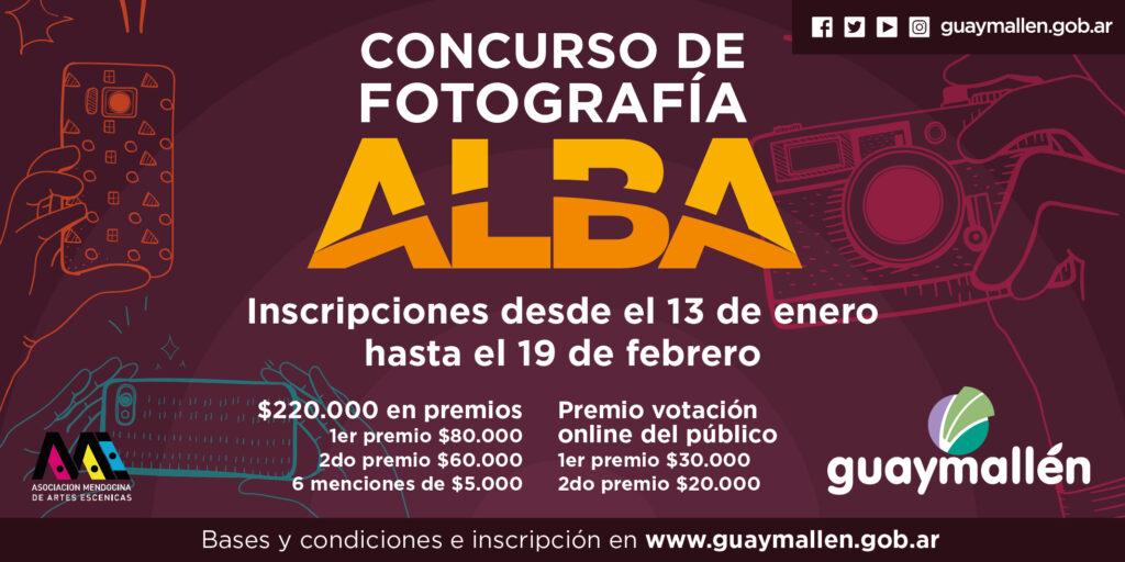 Se lanza el concurso de fotografía ALBA, abierto a todo público