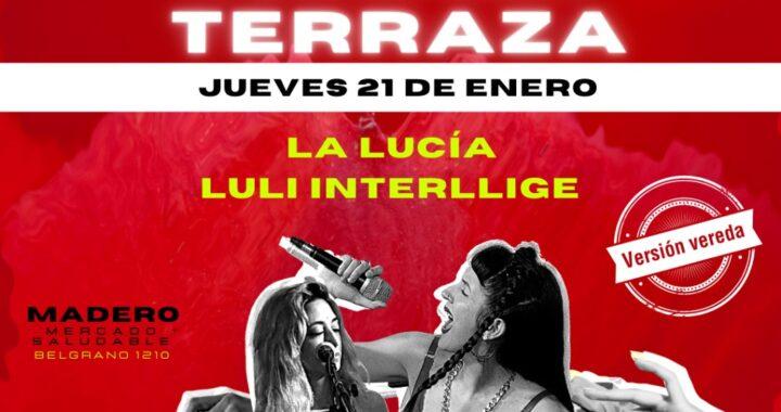 """""""TERRAZA, TERRAZA, TERRAZA"""": segunda presentación del ciclo"""