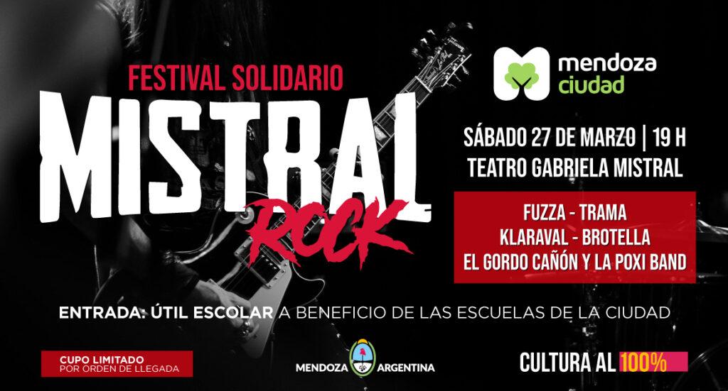 El Mistral Rock será este sábado