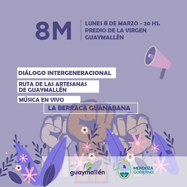 «La Berraca Guanábana» en el agasajo por el Día Internacional de la Mujer de Guaymallén