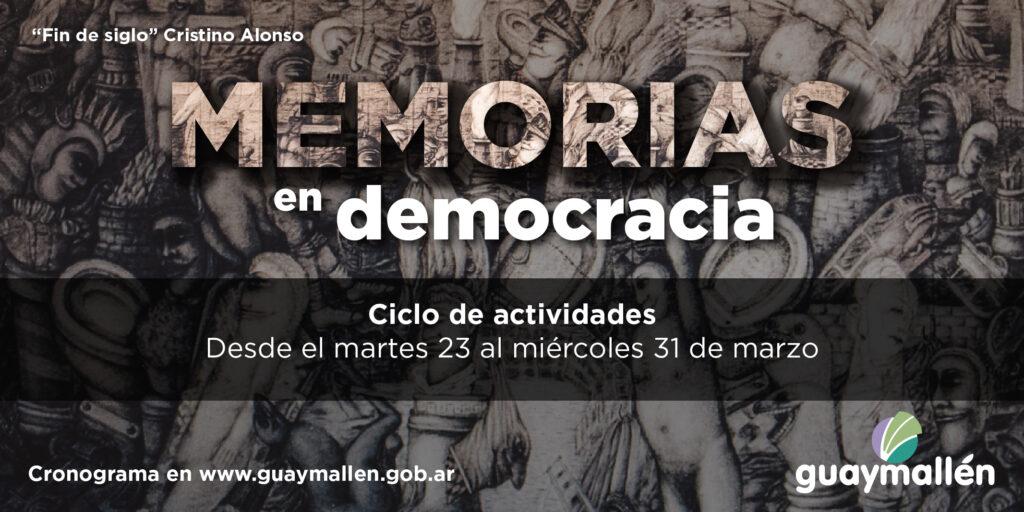 A 45 años de la dictadura militar, Guaymallén lanza «Memorias en democracia»