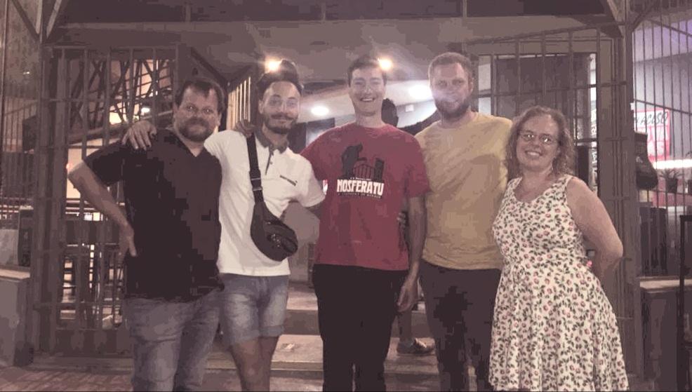 «Tierra Espectral Band» en vivo