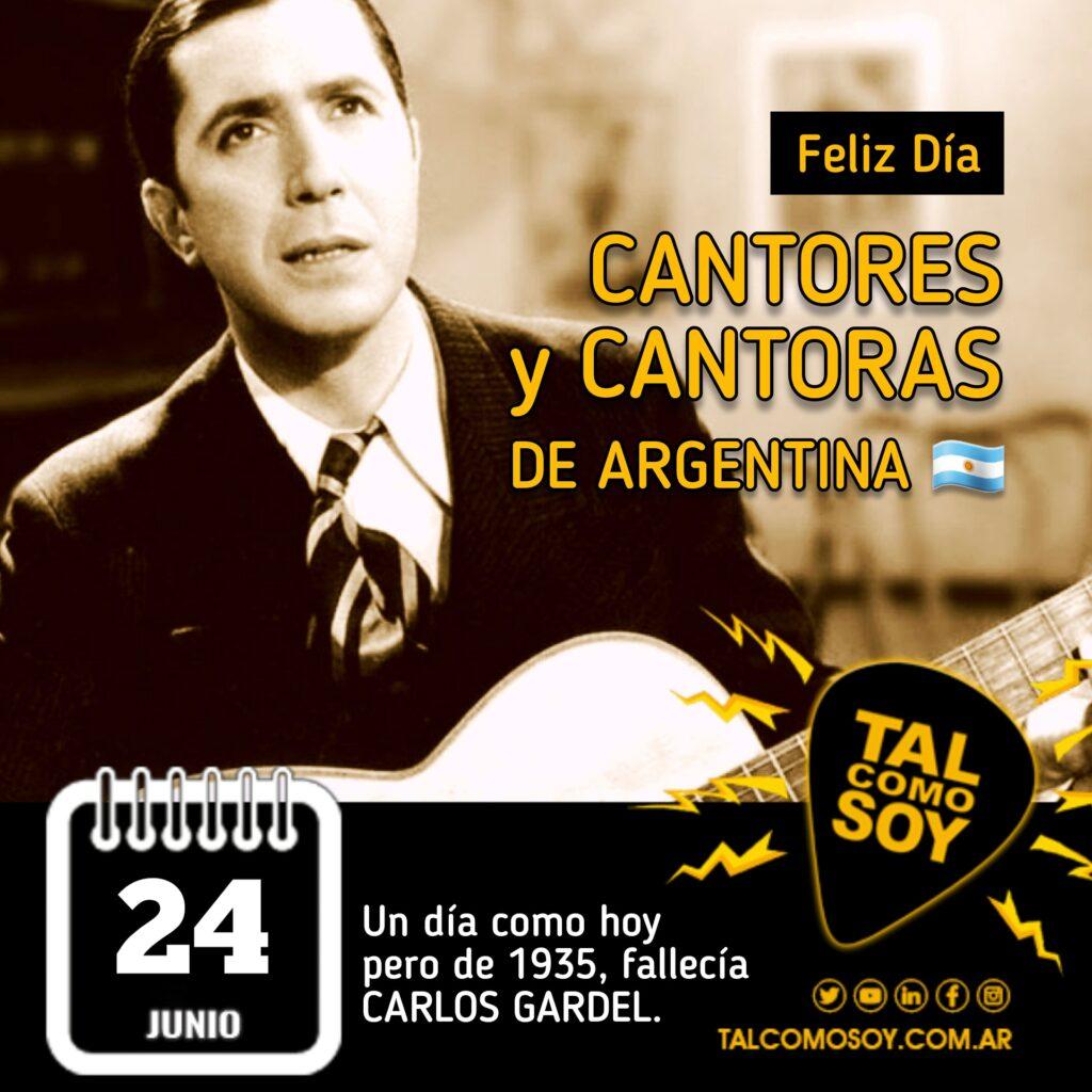 24 de junio: Día del Cantor y la Cantora nacional