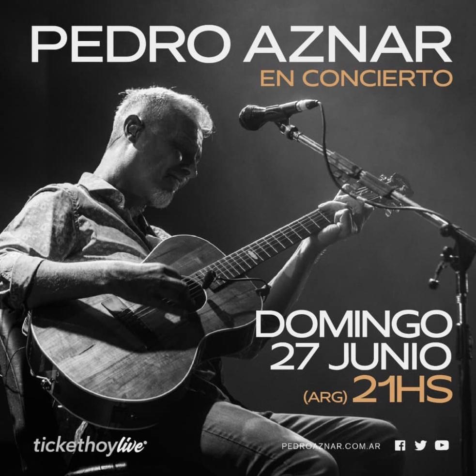 Pedro Aznar en concierto
