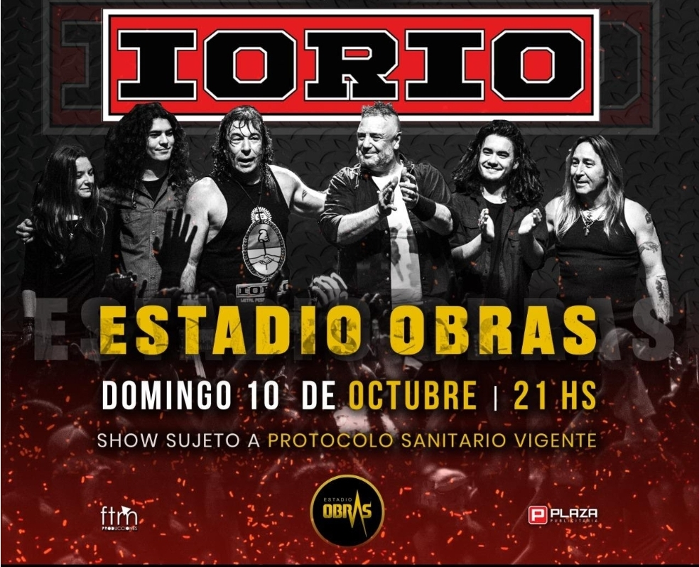 Ricardo Iorio vuelve al Estadio Obras