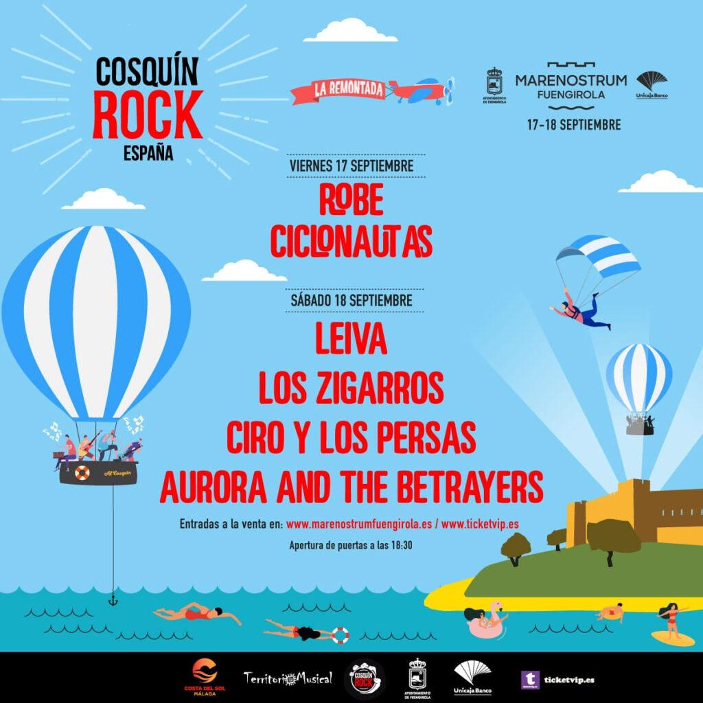 Cosquín Rock llega a España