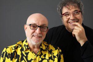 Baglietto y Vitale en la apertura de Beat Club