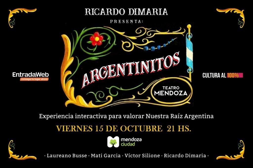 Ricardo Dimaria presenta «Argentinitos»