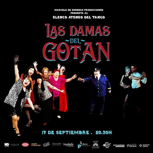 La obra Las Damas del Gotan llega a las tablas del Teatro Plaza