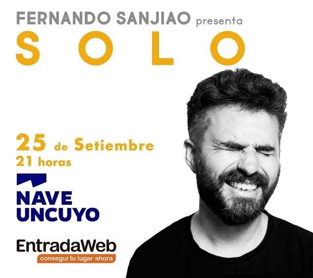Fernando Sanjiano presenta «Sólo» en Mendoza