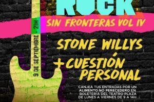 Stone Willys y Cuestión Personal tocan en un concierto a beneficio